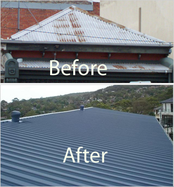 Colourbond, Metal & tin Roofing